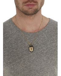 Vivienne Westwood | Metallic Gold Tone Padlock Necklace for Men | Lyst