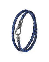Tod's | Gray Mycolors Bracelet In Leather for Men | Lyst