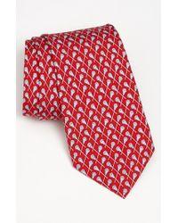 Vineyard Vines | Red 'lacrosse' Silk Tie for Men | Lyst