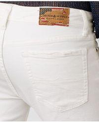 Denim & Supply Ralph Lauren - White Aurora Skinny Stretch Jeans - Lyst