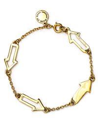 Marc By Marc Jacobs - Metallic Follow Me Bracelet - Lyst