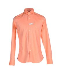 Alea | Orange Shirt for Men | Lyst