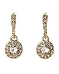 Givenchy   Metallic Gold-Tone Round Drop Earrings   Lyst