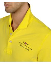 Napapijri | Yellow Polo Shirt for Men | Lyst