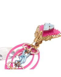 Erickson Beamon | Pink Memphis Earrings | Lyst