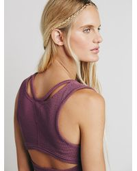 Free People | Purple Womens Fp New Romantics Coco Tank | Lyst
