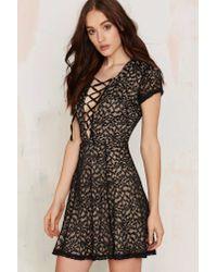 Wyldr | Black Hayley Tea Dress | Lyst