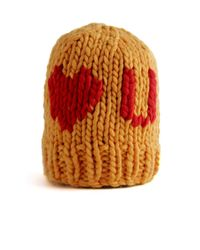 Wool And The Gang | Orange Love U Beanie | Lyst
