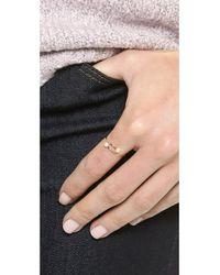 Kristen Elspeth - Metallic Cultured Freshwater Pearl Ring - Pearl/Gold - Lyst