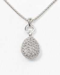 Links of London | Metallic White Topaz Hope Pendant, 17"
