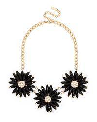 BaubleBar | Black Petunia Collar | Lyst