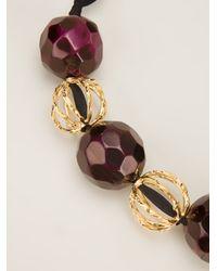 Marni | Metallic Beaded Necklace | Lyst