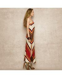Ralph Lauren Blue Label | Multicolor One Shoulder Sweater Dress | Lyst