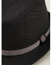 Dolce & Gabbana - Gray Trilby Hat for Men - Lyst
