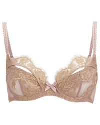 L'Agent by Agent Provocateur | Brown Women's Iana Non-padded Balcony Bra | Lyst