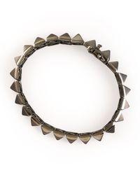 Eddie Borgo | Metallic Pyramid Bracelet | Lyst