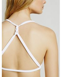 Free People - White Intimately Womens Deepest Sea Bra - Lyst