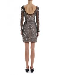 Temperley London | Metallic Klementina Fitted Dress | Lyst