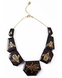 Osklen - Metallic 'Besouro' Necklace - Lyst