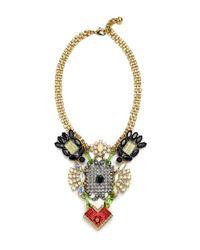 Lulu Frost | Metallic Handpainted Revolution Necklace | Lyst