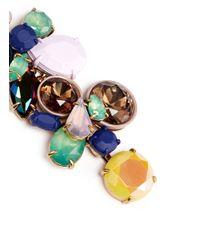 J.Crew - Multicolor Gem Cluster Earrings - Lyst