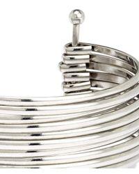 H&M   Metallic Cuff   Lyst