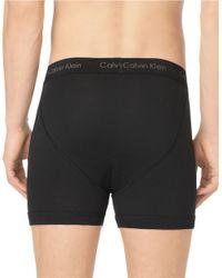 Calvin Klein | Black Three Pack Cotton Classic Boxer Briefs for Men | Lyst