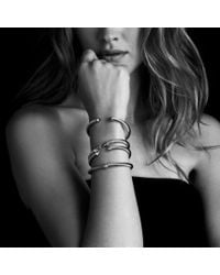 David Yurman - Metallic Cable Classics Bracelet With Citrine And Diamonds, 5mm - Lyst
