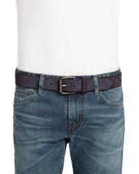BOSS Orange - Blue Leather Belt 'jadeon' for Men - Lyst