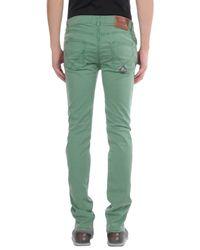 Roy Rogers - Green Denim Pants for Men - Lyst