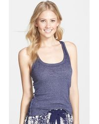 Make + Model | Blue Jersey Tank | Lyst
