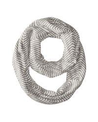 Calvin Klein | Gray Wavey Chevron Infinity | Lyst