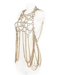 Lucia Odescalchi - Metallic Hag Chain Necklace - Lyst