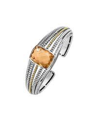 Lagos | Metallic Prism Citrine Medium Cuff Bracelet | Lyst