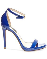 Steven by Steve Madden | Blue Rykie Sandals | Lyst