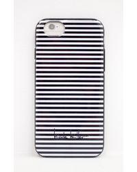 Nicole Miller - White Iphone 6 Striped Hardshell Case - Lyst
