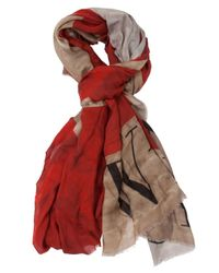 Faliero Sarti | Red 'Eat' Scarf | Lyst
