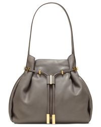 Vince Camuto | Gray Arora Drawstring Bag | Lyst