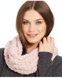 Betsey Johnson - Pink Pearly Girl Snood - Lyst