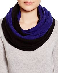 C By Bloomingdale's - Blue Angelina Cashmere Solid Loop Scarf - Lyst