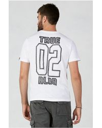 True Religion | Multicolor Flatlock Mens T-shirt for Men | Lyst