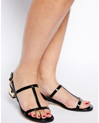 ASOS - Metallic Heart Toe Ring Pack - Lyst