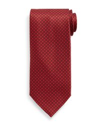 Stefano Ricci - Red Small Neat Pattern Silk Tie for Men - Lyst