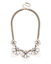 BaubleBar | Metallic Paradise Persimmon Collar | Lyst