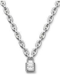 Michael Kors | Metallic Mkj3326040 Womens Toggle Necklace | Lyst
