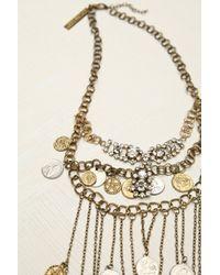 GOLDBARR | Metallic Mykonos Layered Chain Necklace | Lyst