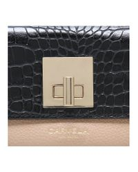 Carvela Kurt Geiger - Black Fis Lock Purse - Lyst