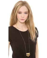 Madewell - Metallic Anglestack Necklace - Lyst
