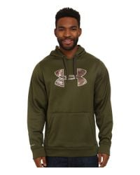 Under Armour Green Storm Caliber Hoodie for men