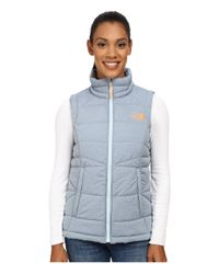 The North Face | Blue Roamer Vest | Lyst